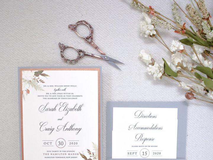 Tmx Sarah Wells 1 51 560428 159874834996556 Farmingdale, New Jersey wedding invitation