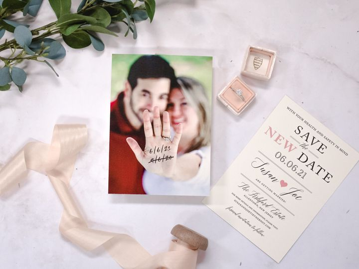 Tmx Susan Livesay Change The Date 2 51 560428 159699535864197 Farmingdale, New Jersey wedding invitation