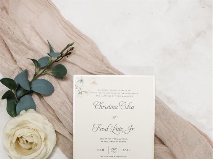 Tmx Sweet Watercolor Floral Nj Wedding Invitations 51 560428 162051204648013 Farmingdale, New Jersey wedding invitation