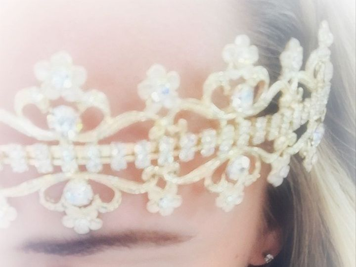Tmx 1433701933140 Frosted Headpiece Warrington, PA wedding dress