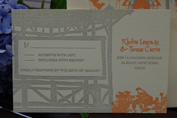 Tmx 1219364590245 Samplelangwigrsvp Niverville wedding invitation