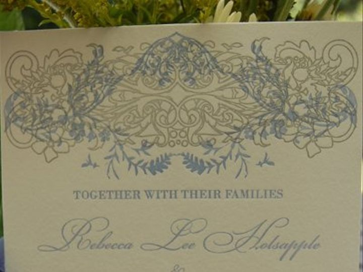 Tmx 1219364693386 Samplesmithinv Niverville wedding invitation