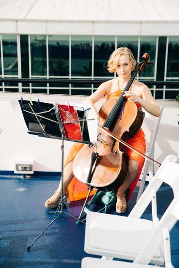 Liz Gergel, Cellist