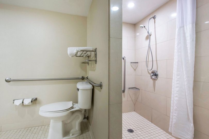 Accessible Roll-In Shower*only in accessible rooms*