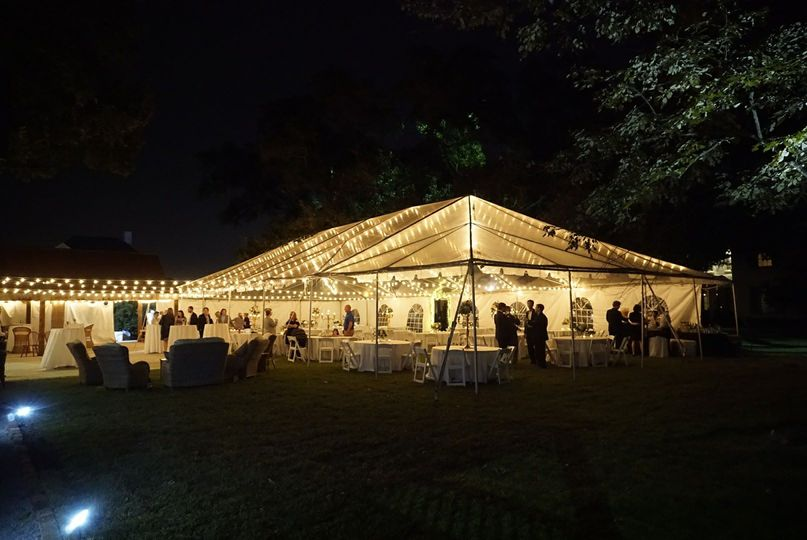 clear tent with perimeter rafter lighting willow grove 51 953428 v1