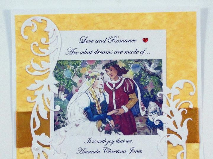 Tmx 1393949071117 Renaissance Wedding Princess Princ South Berwick wedding invitation