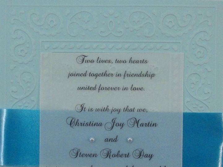 Tmx 1393949784236 Bandana Blue Vellu South Berwick wedding invitation