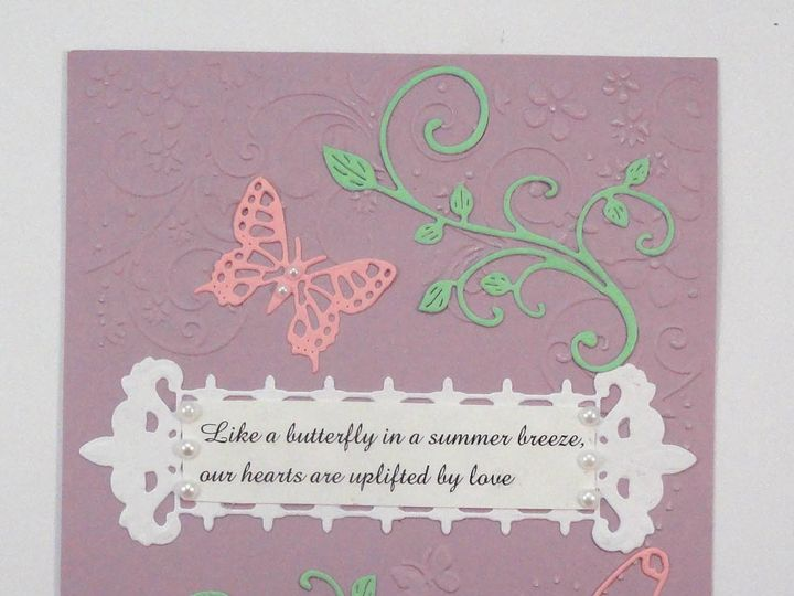 Tmx 1393949833302 Butterflies On Purpl South Berwick wedding invitation