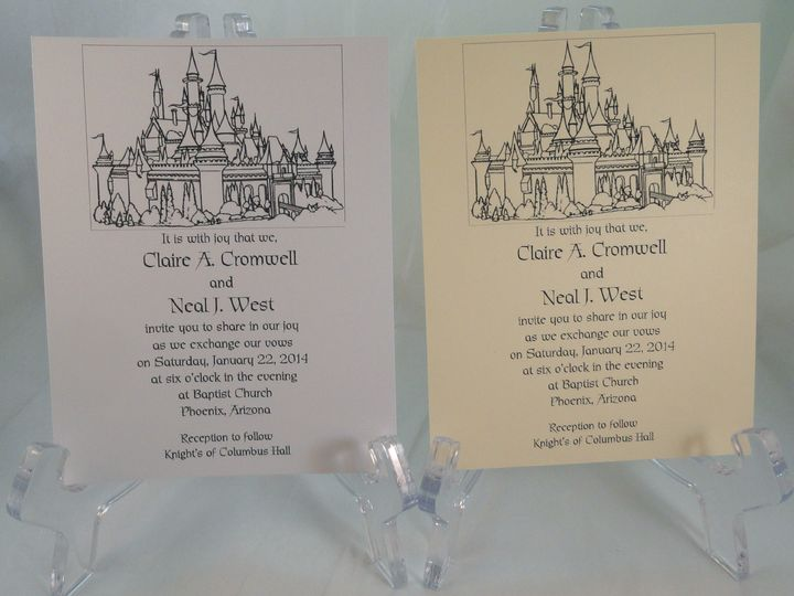 Tmx 1393950745430 Castle  South Berwick wedding invitation