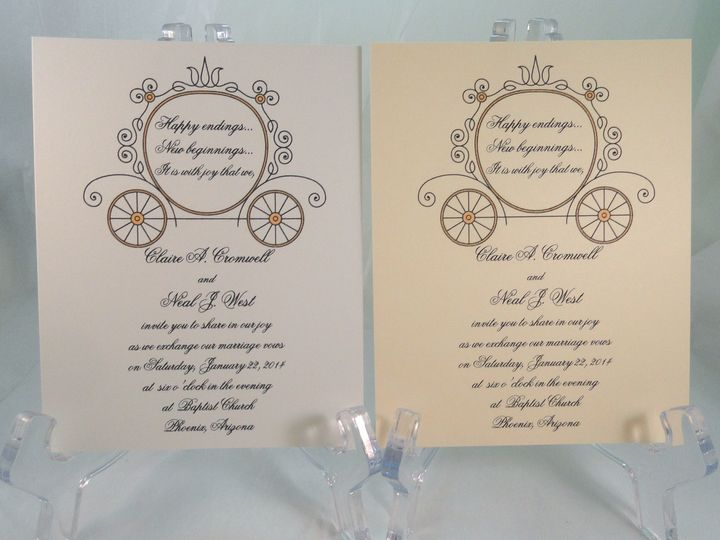 Tmx 1393950895297 Coach  South Berwick wedding invitation