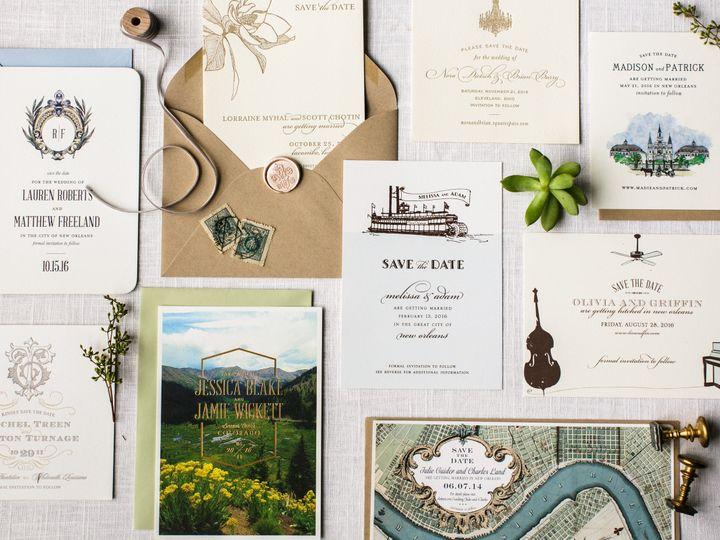 Tmx 1467729222724 452greergattuso New Orleans wedding invitation