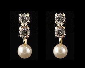 gold crystal pearl