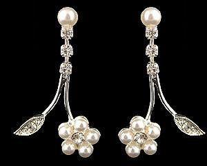 Tmx 1233361814046 Whitepearlflowerear Philadelphia wedding jewelry