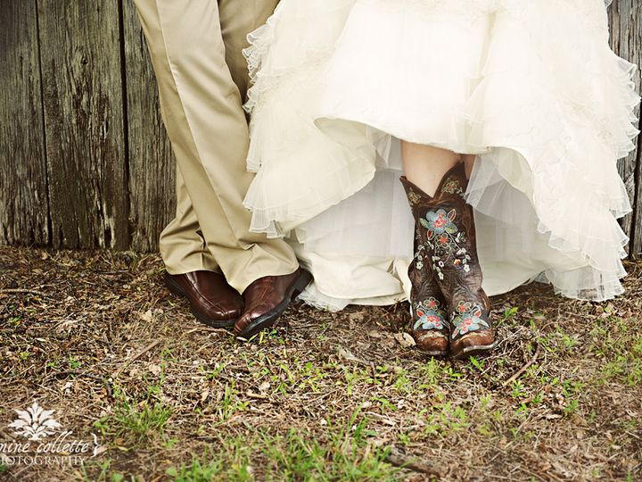 Tmx 1456422325067 Bride Sandi  Groom Feet Photo Bangor, PA wedding venue