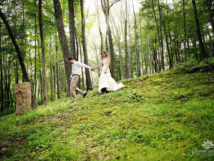 Tmx 1456422366519 Bride Sandi And Groom Walking Inthe Woods At Kirkr Bangor, PA wedding venue