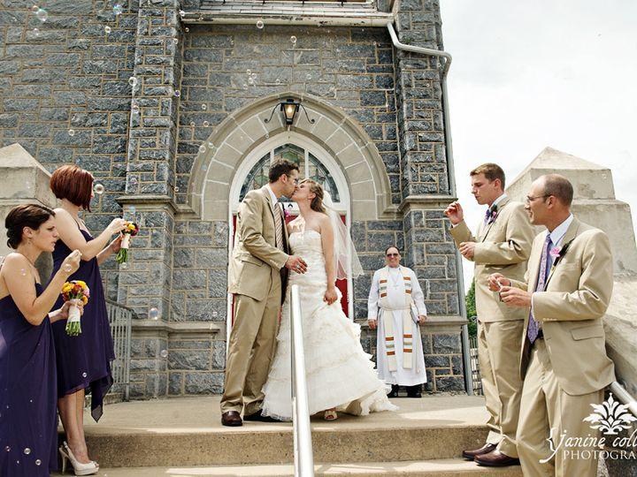 Tmx 1456422438831 Bride Sandi With Groom Leaving The Church Bangor, PA wedding venue