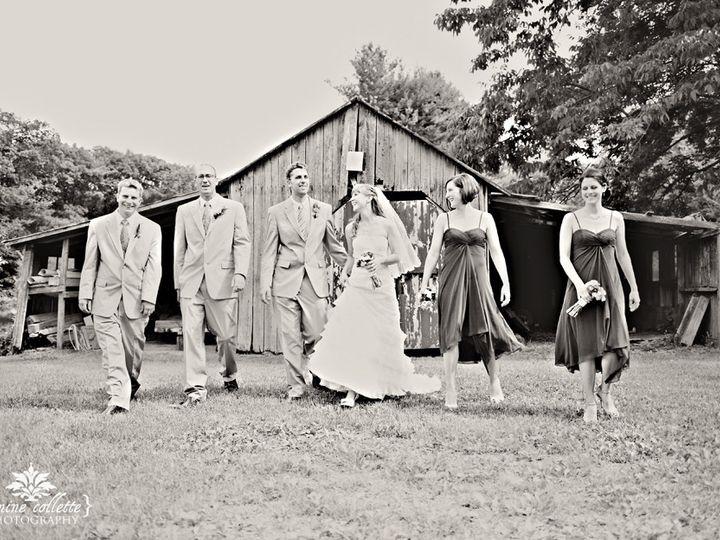 Tmx 1456422446773 Bride Sandi With Wedding Party At Barn In Bw Bangor, PA wedding venue