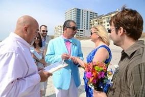 Michael Peter, SC Wedding officiant/notary