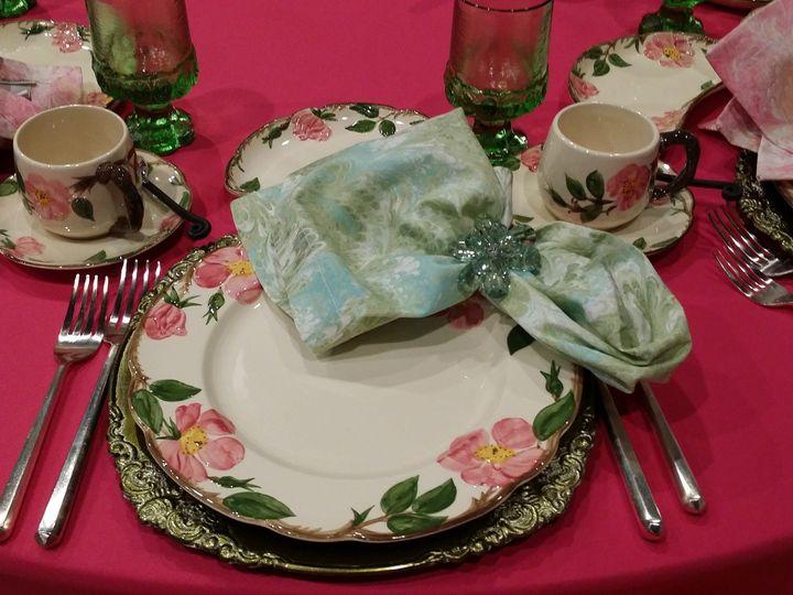 Tmx 1484137799747 Fuchsia Hot Pink Polyester Tablecloth Napkin Sash  Dallas, Texas wedding rental