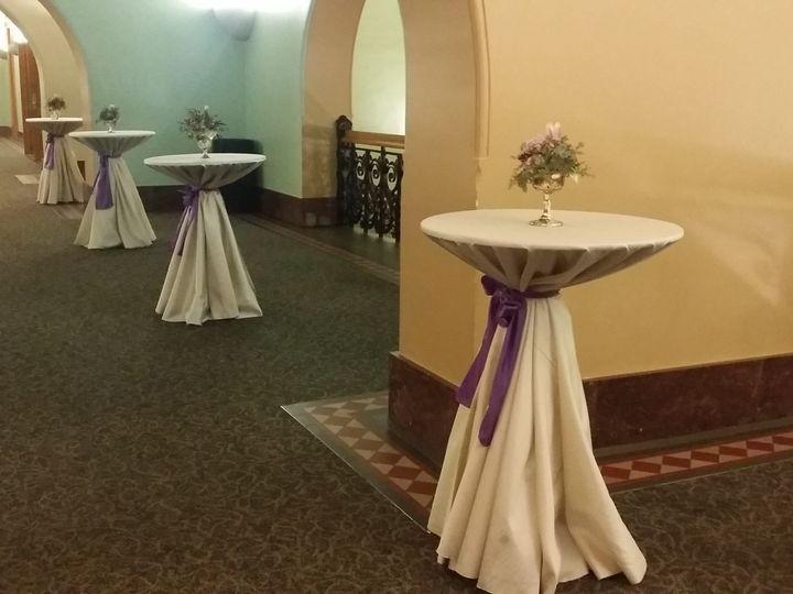 Tmx 1484137868017 Ivory Shantung Tablecloth Rentals Cocktail Ideas A Dallas, Texas wedding rental