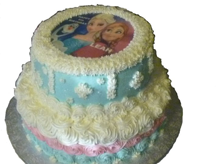 Tmx 1468941853228 Frozen Hollis wedding cake