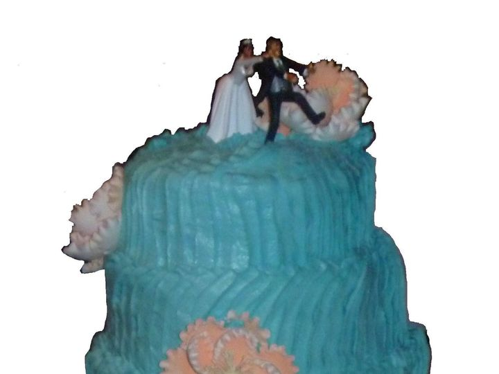 Tmx 1468942123090 Wave Cake Hollis wedding cake