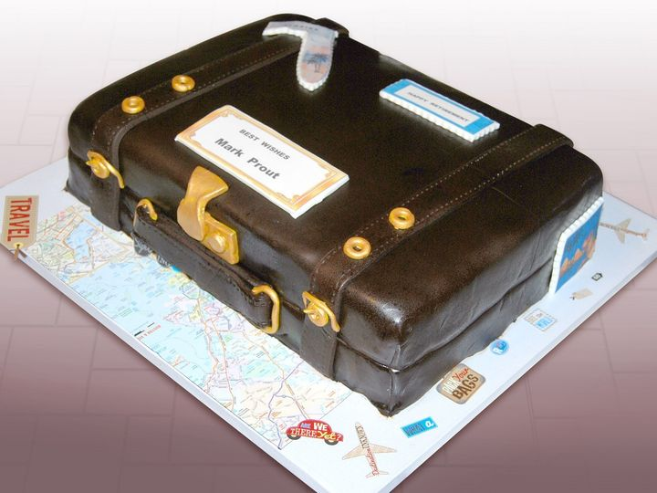 Tmx 1468943874891 Suitcase Cake 1lr 1 Hollis wedding cake