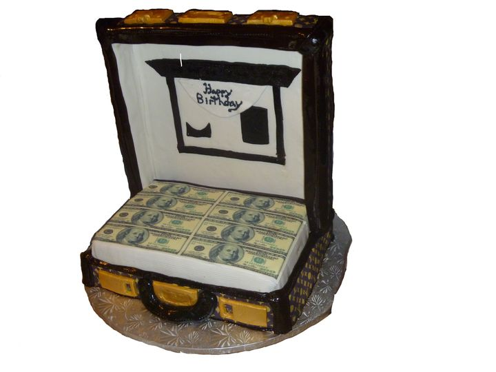 Tmx 1468943939075 Suitcase Cake Hollis wedding cake