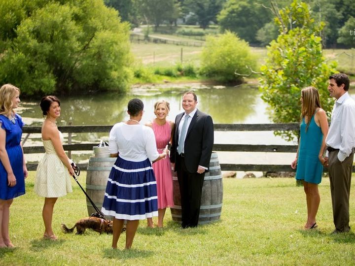 Tmx 1415887967791 Chrysalis Vineyards004 Alexandria wedding officiant