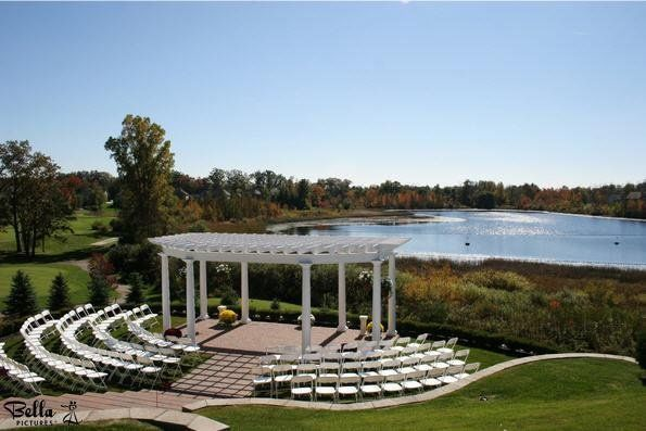 Wedding space by the water
