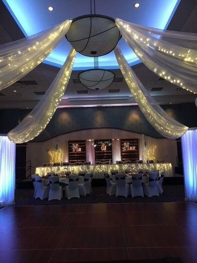 The wedding venue