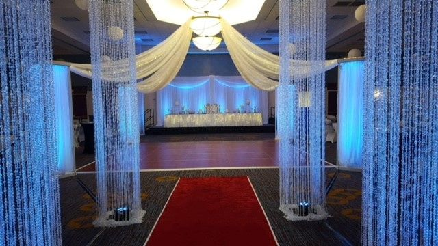 Columns for a touch of elegance