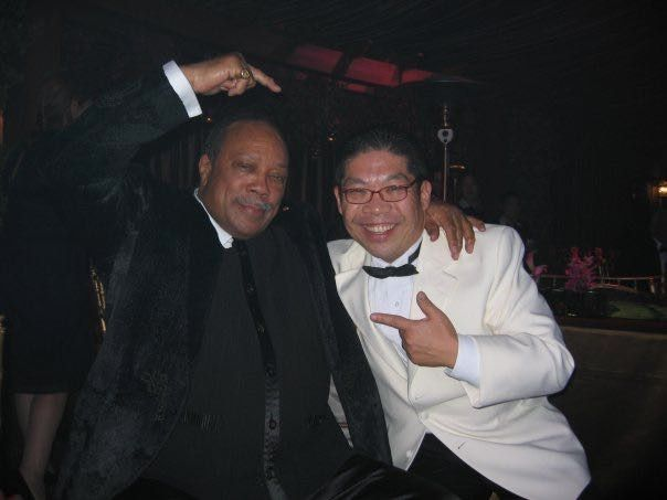 Quincy Jones is a fan