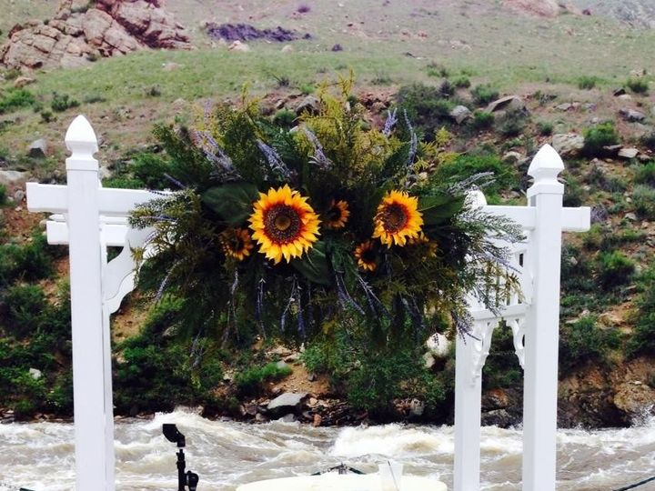 Tmx 1471386272470 Resin Arch With Sunflowers Fort Collins wedding rental