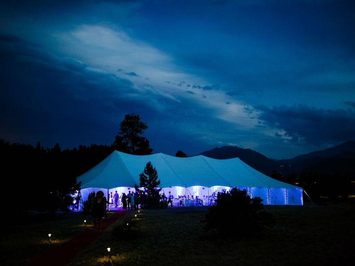 Tmx 1487608722506 Night Photo Of Tented Wedding Reception2 Fort Collins wedding rental