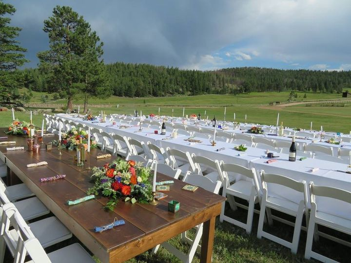 Tmx 1487608782512 Family Style Seating  Farm Table Fort Collins wedding rental