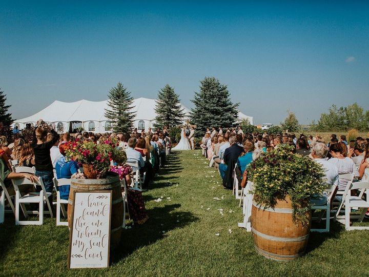 Tmx 1514496579068 Wine Barrels  White Pads Smaller Fort Collins wedding rental