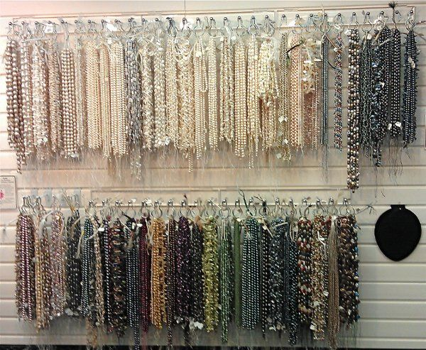 We have a plethora of pearls, in every size, shape & color!