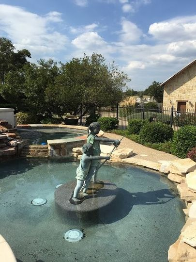 Delightful fountain