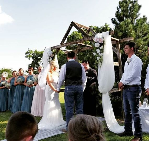 Ceremony in progress