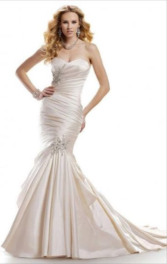 mermaid long wedding dress hsnal0071 187 1