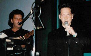 Rob Schnieder from Saturday Night Live singing a little Elvis song with me!