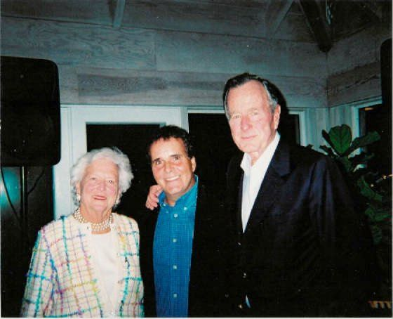 I had the great honor of performing for George and Barbara Bush's Family Christmas Party in 2001.