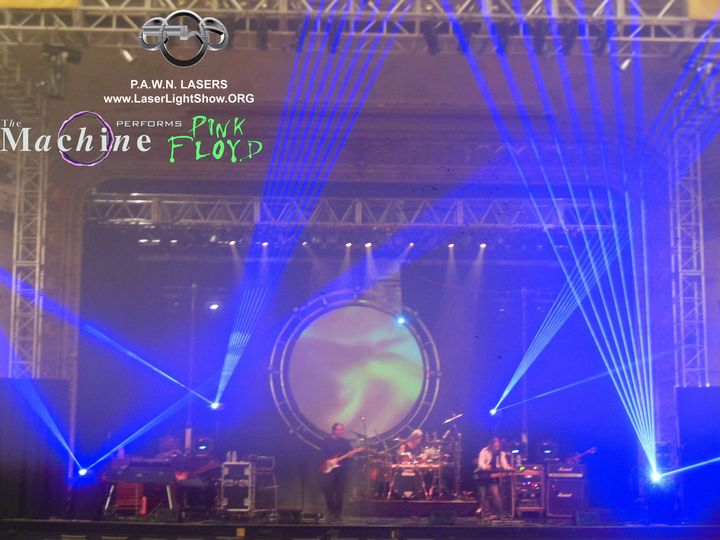 Tmx 1488510017549 The Machine Performs Pink Floyd With Pawn Lasers 1 Philadelphia wedding eventproduction