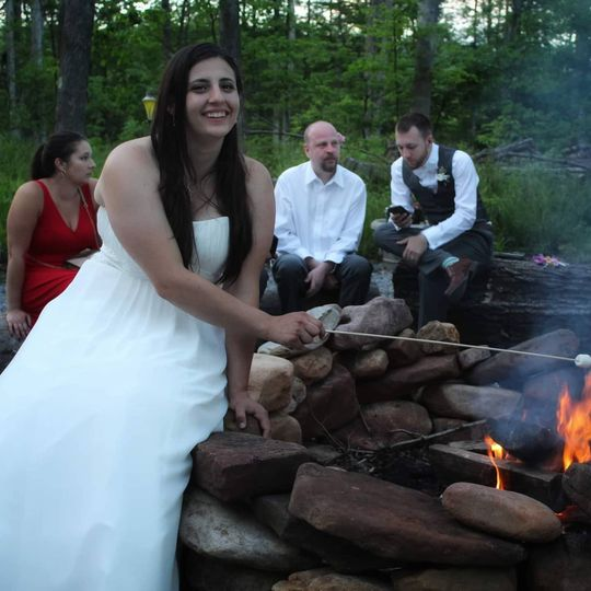 Wedding firepit