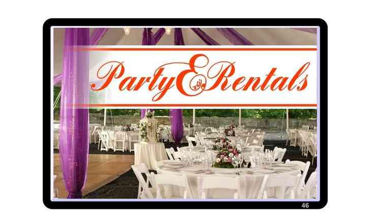 Party Rentals Etc.