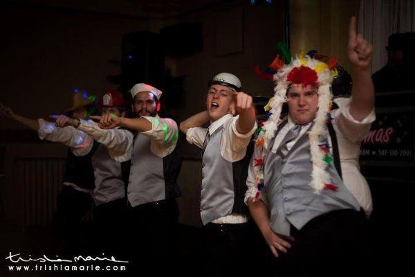 YMCAatweddingdance