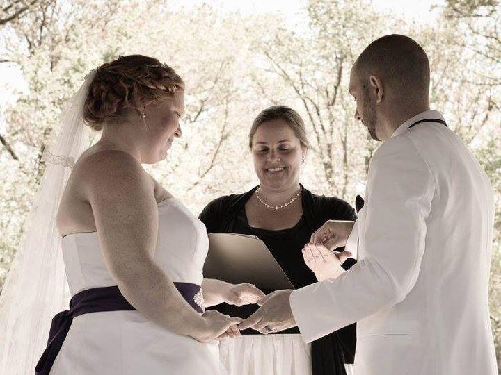 Tmx 1432405081742 Jenn Jay Harlan Ring Exchange Buena Vista wedding officiant