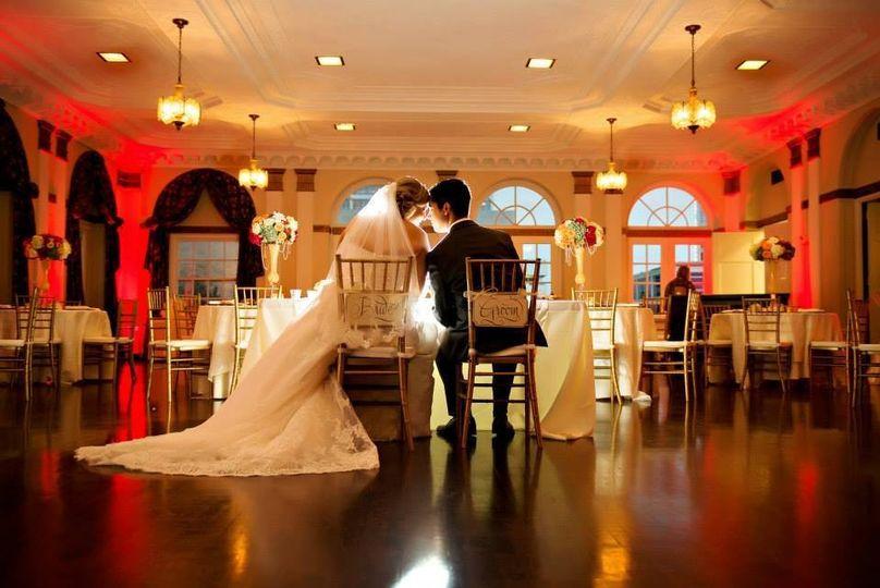 Historic 512 downtown fort worth venue fort worth tx weddingwire 800x800 1458328361753 bride groom red ballroom junglespirit Choice Image