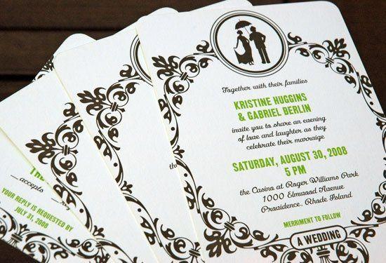 Tmx 1215037838931 WeddingWireImages 0009 GKWed4 Brooklyn wedding invitation